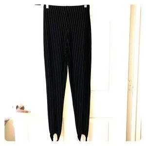 Forever 21 Pants - FOREVER21 Black Striped Pants SIZE: LARGE